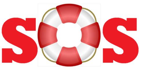 SOS-knap i børneur