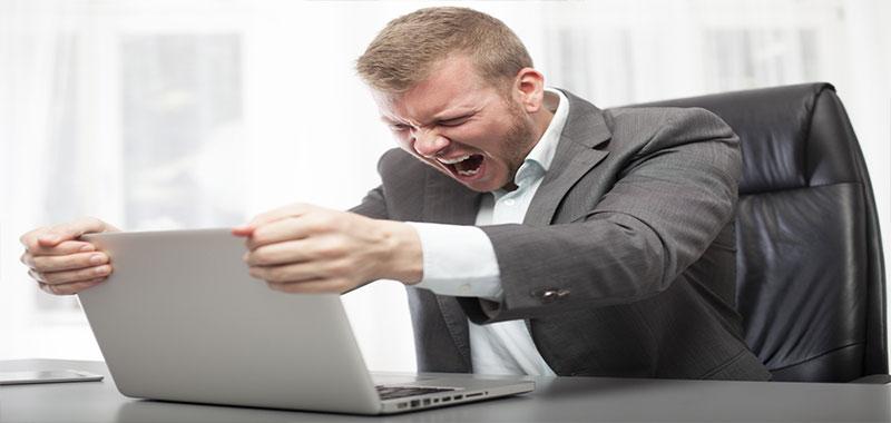 Langsom computer