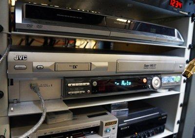 maskiner til vhs til dvd overspilning
